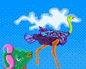 Ostrich Away!